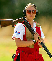England's Charlotte Kerwood is favourite for gold in Women's Double Trap.