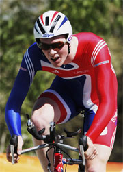Englishman Edward Clancy is one of the Cyclists to watch during the Melbourne 2006 Commonwealth Games.