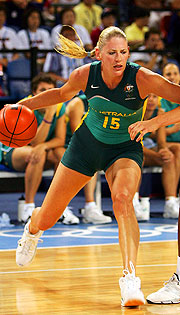 International superstar Lauren Jackson will lead the Opals in Melbourne.