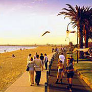 The St Kilda Foreshore course will be the venue for the Games Triathlon.