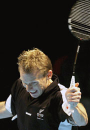 Daniel Shirley of New Zealand is a number 2 seed in the Mixed Doubles.</