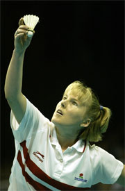 Tracy Hallam of England won silver on home soil at Manchester 2002, but hopes to go one better in Melbourne.