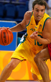 Australian basketballer Jason Smith.