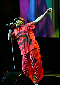 Jimmy Cliff at Sidney Myer Music Bowl Please Credit Photo Jeff Busby