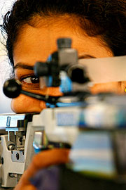 Anuja Jung has won India's 13th gold medal for shooting.