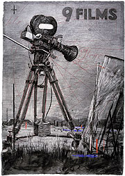 9 Drawings for Projection: William Kentridge