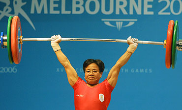 Nameirakpam Kunjarani Devi View the Top Performing Weightlifters