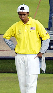 Siti Zalina Ahmad of Malaysia during the 2002 Commonwealth Games in Manchester.