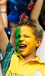 The Commonwealth Games are an opportunity for Australia to show its true colours: green and gold.